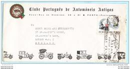 PORTUGAL 1058 WHO 20 J. Medizin - SST Sogan Cachet - 17.12.68 Weihnachten Auto-Club Brief Cover Lettre (Scan)(28977) - 1910-... République