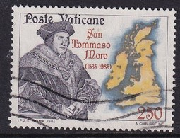 Vatican 1985, Minr 870 Vfu - Oblitérés