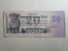 20 Millionen Mark 1923 - [ 3] 1918-1933 : Weimar Republic