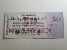 50 Millionen Mark 1923 - [ 3] 1918-1933 : Weimar Republic