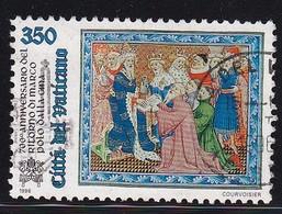 Vatican 1996, Minr 1167 Vfu - Oblitérés