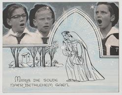 2) Oosterhoutse Nachtegalen Oosterhout N-B 45T Maria Die Soude Naer Bethlehem Gaen (christmas) - Formats Spéciaux