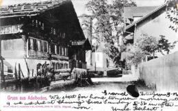 [DC12253] CPA - SVIZZERA - GRUSS AUS ADELBODEN - PERFETTA - Viaggiata 1901 - Old Postcard - BE Bern