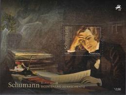 Portugal  2010 Chopin / Schumann  Michel Bl.292-93  MNH 27428 - Musique