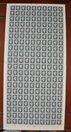 Feuille De 100 Valeurs France 1945. ~ YT 696** - 4 F. 50 Marianne De Dulac. Série De Londres - Full Sheets