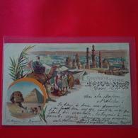 SOUVENIR DU CAIRE LITHOGRAPHIE - Cairo