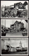 ILE MAURICE (océan Indien) Lot Exceptionnel De 5 Cartes Photos Dont 4 Sur Le Désastre Provoqué Par Le Cyclone........... - Maurice