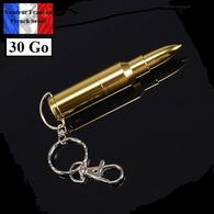 1 Clé USB 2.0 NEUVE En Métal 30 Go ( USB Flash Drive 30 GB ) - Balle Bullet 9 Cm ! - Techniek