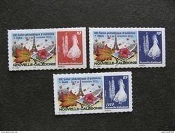 Nouvelle-Calédonie: TB  N° 1263 A : Bleu Avec Faciale 110F Au Lieu De Sans Valeur + Paire 1262/1263; Neufs XX . - Nuevos