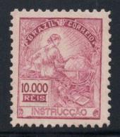 Brésil 1934 Mi. 425 Neuf ** 100% 10000 R, Personnalité, Culture - Brasilien