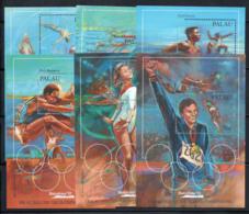 Palau 1992 Mi. Bl. 15-20 Bloc Feuillet 100% Neuf ** Jeux Olympiques - Palau