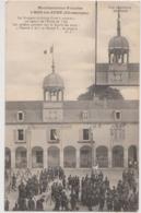 BAR Sur AUBE 10 CPA, Manifestations Viticoles, Révolte Vignerons 1911, Remise En Place Du Drapeau Tricolore, Militaires - Bar-sur-Aube