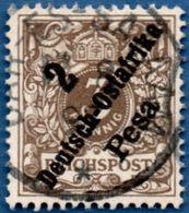Deutsch Ost-Afrika 1896 2 Pesa Overprint 2005.0230 German East Cancel Dar-es-Salaam - Colonie: Afrique Orientale