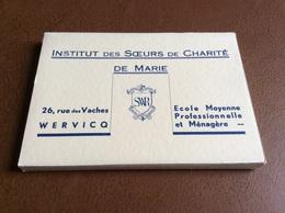 Wervik : Compleet Boekje 30 Stuks !! - Institut Des Soeurs De Charité De Marie - Carnet Complet - Ecole - Wervik