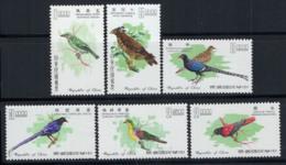 Taiwan 1967 Mi. 640-645 Neuf ** 100% Oiseaux - 1945-... Republic Of China