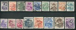 AUTRICHE- Y&T N°441 à 457- Oblitérés - Used Stamps