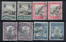 Union De L'Afrique Du Sud 1933 Mi. 67-74 Oblitéré 100% Monuments - Usati