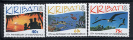 Kiribati 1994 Mi. 669-671 Neuf ** 100% Indépendance - Kiribati (1979-...)