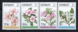 Kiribati 1994 Mi. 690-693 Neuf ** 100% Fleurs - Kiribati (1979-...)