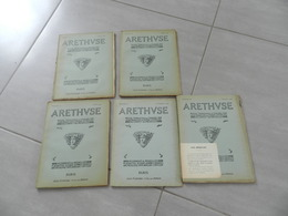 Lot De 5  Revue   Arethvse   N14- 15 -16 -25 -26  Monnaies  &  Médailles   Plaquettes   Etc - Libri & Software