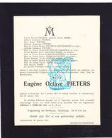 DB Octave Pieters ° Anzegem 1874 † Ingelmunster 1931 X Sabbe / Vansteenkiste De Vlaeminck Goethals Bontebeele Guillemyn - Décès