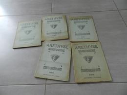 Lot De 5  Revue   Arethvse   N19 - 27 - 28 - 29 -30   Monnaies  &  Médailles   Plaquettes   Etc - Libri & Software
