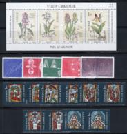 Suède 1982 Mi. 1205-1218 Neuf ** 100% Orchidées, Noel, Atomophysique - Svezia