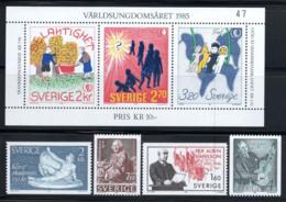Suède 1985 Mi. 1347-1353 Neuf ** 100% Jeunesse, Art, A. Hansson - Svezia