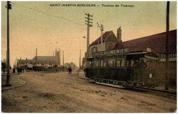 62 SAINT--MARTIN-BOULOGNE - Terminus Des Tramways - France