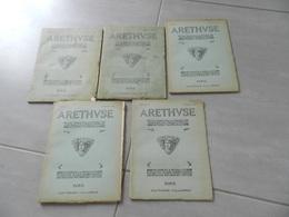 Lot De 5  Revue   Arethvse   N20 - 21 - 22 -23- 24   Monnaies  &  Médailles   Plaquettes   Etc - Libri & Software