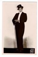 Joséphine Baker En Costume (smoking & Chapeau Haut De Forme) Studio Piaz, Paris - Pas Circulé - Cabaret