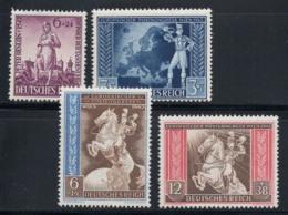 Empire Allemand 1942 Mi. 819-822 Neuf ** 100% Henlein, Congrès Postal - Deutschland