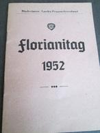 FLORIANITAG 1952 - Livres, BD, Revues
