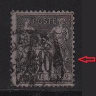 Type Sage - Variete - Anneau De Lune Sur Le Genou - 1876-1898 Sage (Tipo II)