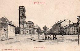 88  ETIVAL  Place De L' Eglise - Etival Clairefontaine