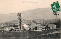 88  ETIVAL  Vue Sur L'Abbaye  (vue Prise Du Vivier) - Etival Clairefontaine