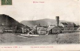 88  ETIVAL  L'Abbaye  Vue Prise En Montant à Pajailles - Etival Clairefontaine