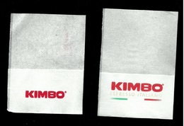 2 Tovagliolini Da Caffè - Caffè Kimbo - Servilletas Publicitarias