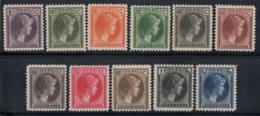 Luxembourg 1926 Mi. 166-176 Neuf ** 100% Grande-Duchesse Charlotte - Luxembourg