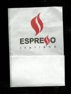 Tovagliolino Da Caffè - Espresso Italiano - Servilletas Publicitarias