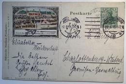 """OLYMPIC GAMES 1916: """"BERLIN GRUNEWALD DEUTSCHES STADION 1913"""" RR !(PP Ganzsache Sport Deutsches Reich Sonderstempel - Sommer 1912: Stockholm"""