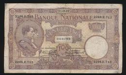 100 FRANK CENT FRANCS 11.05.27  55141713   IN GOEDE STAAT  2 SCANS - [ 2] 1831-... : Belgian Kingdom