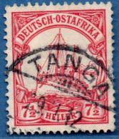 Deutsch Ost-Afrika 1905 7½ Heller Hohenzollern Ship 2005.0234 German East Cancel TANGA 1912 - Colonie: Afrique Orientale