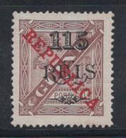 Guinée Portugaise 1915 Mi. 152 Sans Gomme 60% 115 R, République - Portuguese Guinea