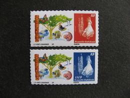 Nouvelle-Calédonie: RARE Et TB Paire N°1119 Et N° 1120, Neufs XX . - Nouvelle-Calédonie