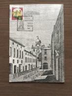 """Cartolina Ufficiale """" XIV Manifestazione Filatelica VIgnolese"""" Annullo Vignola (MO) 29-9-1991 - Manifestazioni"""