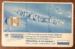 NOUVELLE CALÉDONIE OPT PUZZLE N°4 1999 TÉLÉCARTE 25U RÉF PHONECOTE NC64 PHONECARD - Nouvelle-Calédonie