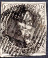 """N° 6 Oblitération """"Perception P136"""" De MECHELEN/SUR/MEUSE  -  Cote NIPPA 31,00 € - 1851-1857 Medallions (6/8)"""