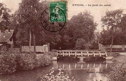 88  ETIVAL  Le Pont Du Canal - Etival Clairefontaine