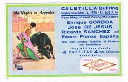 MEX-175  ACAPULCO : Caletilla Bullriding 1978 - Dominique